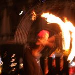 Fire Show by 'La Salamandre' at Venice Carnival 2010