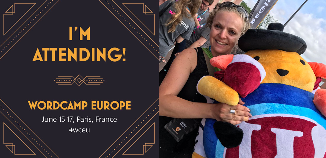 my own WordCamp Europe 2017 header