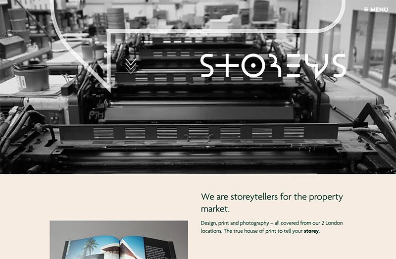 property marketing brochure website